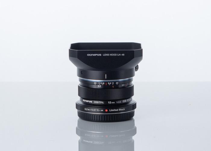Olympus 12mm f2.0 Lens - 1