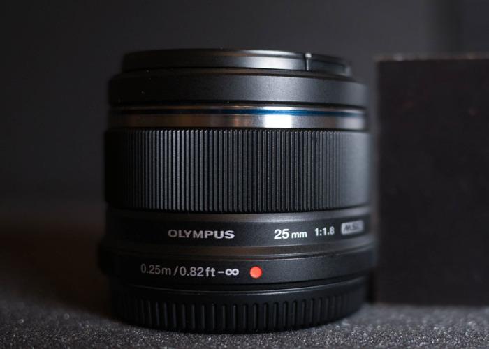 Olympus 25mm f1.8 Lens - 2
