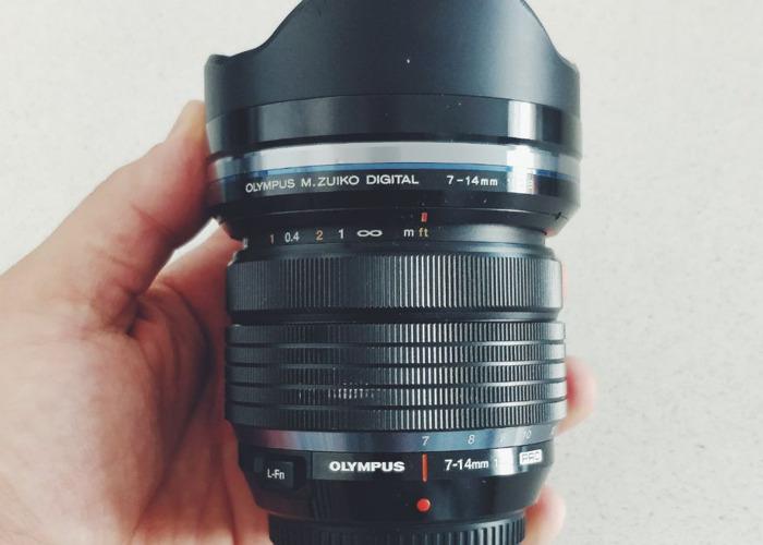 Olympus 7 - 14mm f2.8 mft  - 1