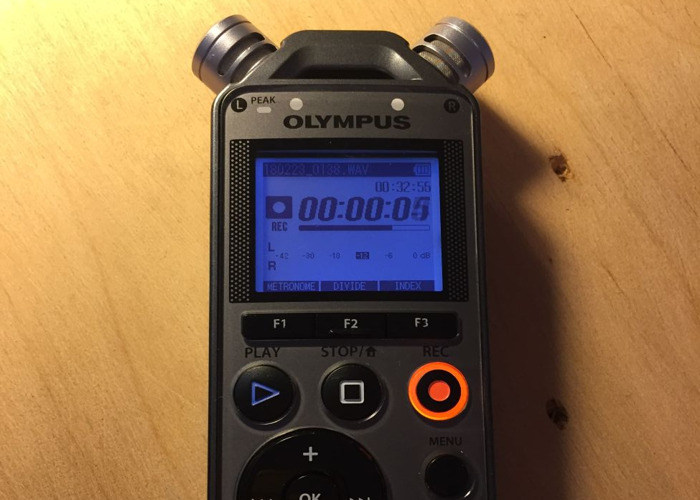 Olympus LC-12 High quality portable sound recorder NOT Zoom  - 1