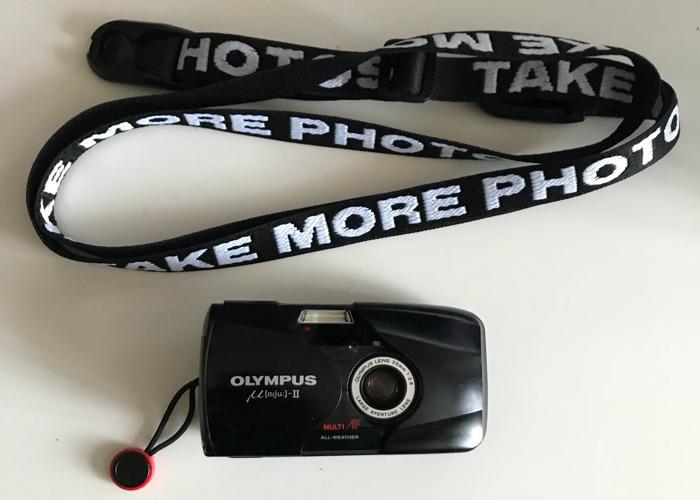 Olympus mju ii + strap - 2