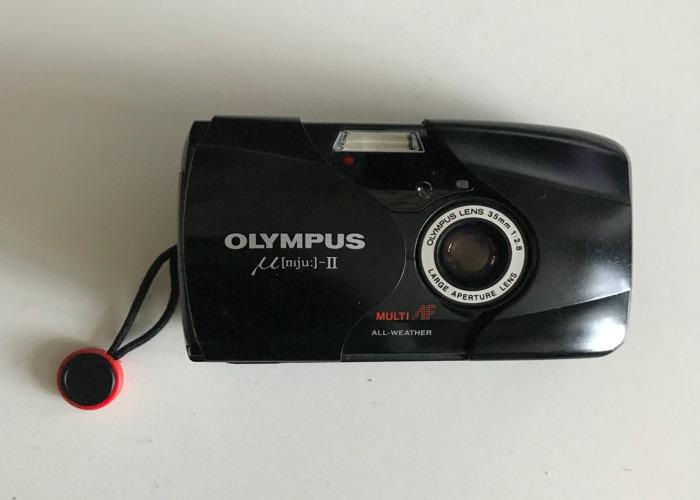 Olympus mju ii + strap - 1