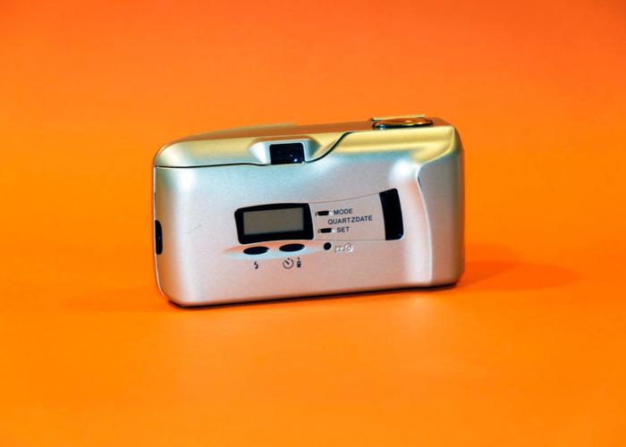 OLYMPUS MJU II compact 35mm film camera - 2