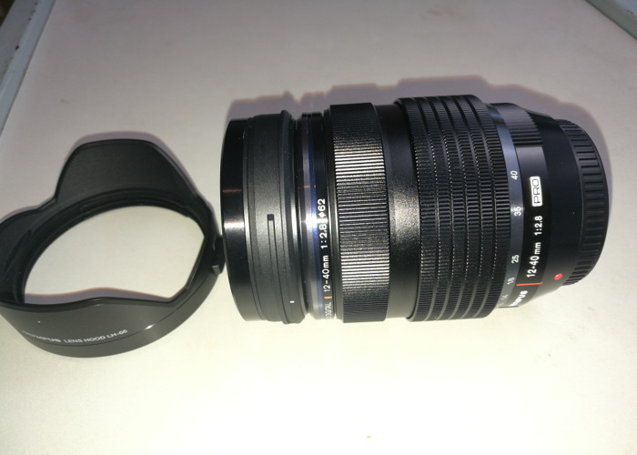 Olympus M.Zuiko Digital 12 -40mm Zoom Lens with Lens Hood - 1