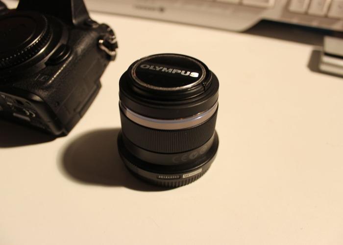 Olympus M.ZUIKO DIGITAL 45 mm 1:1.8 Lens  - 1