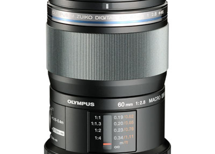 Olympus M.Zuiko Digital ED 60mm f/2.8 Macro Lens - 1
