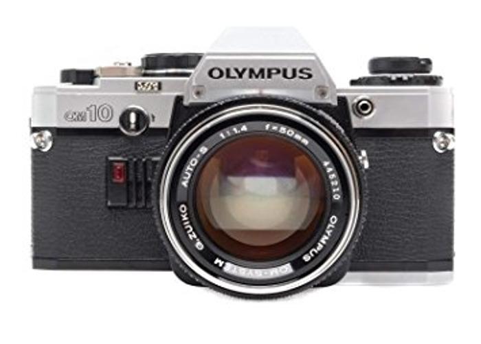 Olympus OM10 35mm Camera w/50mm Lens - 1