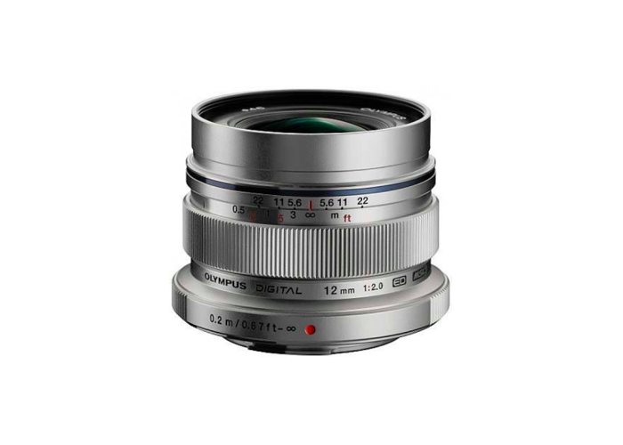 Olympus PEN M. Zuiko Digital ED 12mm f/2.0 Lens - 1