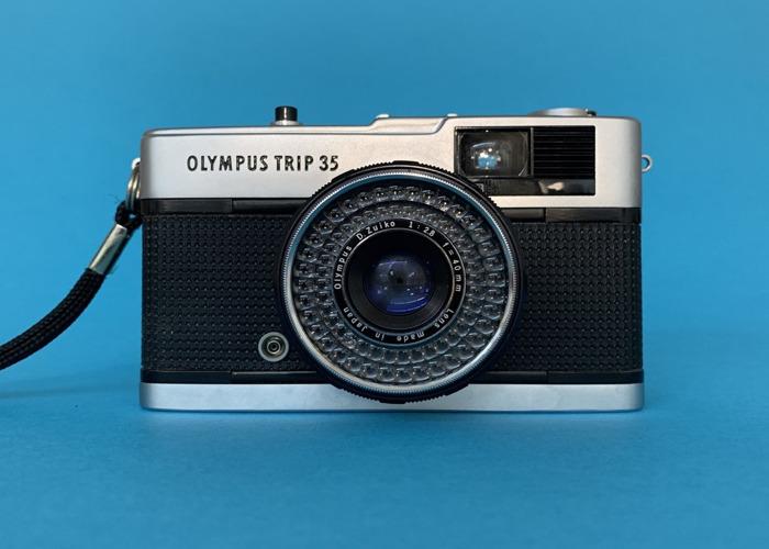 OLYMPUS TRIP 35mm FILM CAMERA - 1