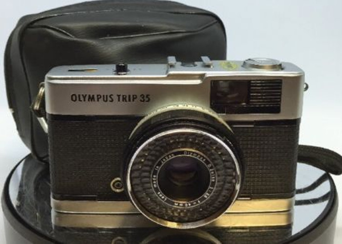 Olympus TRIP 35 Film Compact Camera with Olympus 40mm F2.8 D - 2