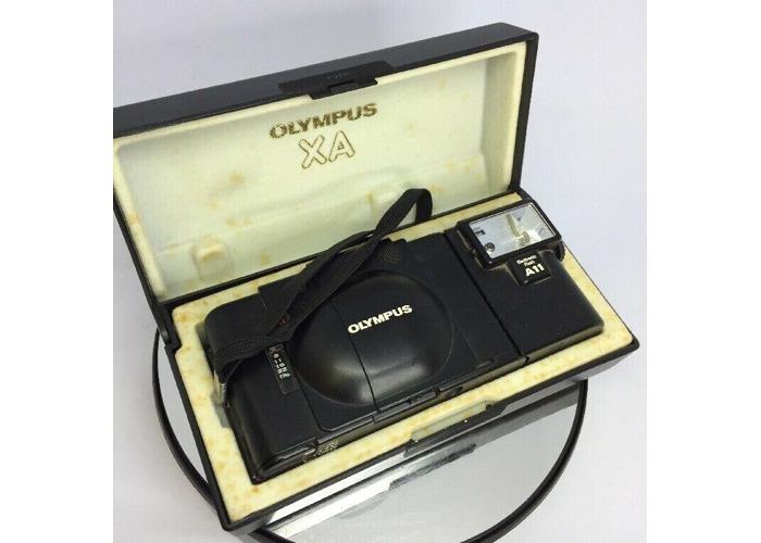 Buy Olympus XA 35 mm Film Rangefinder Camera w/ F Zuiko 35mm