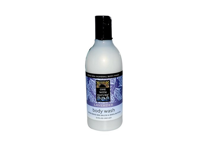 One With Nature Dead Sea Mineral Body Wash Lavender -- 12 fl oz by One With Nature - 1