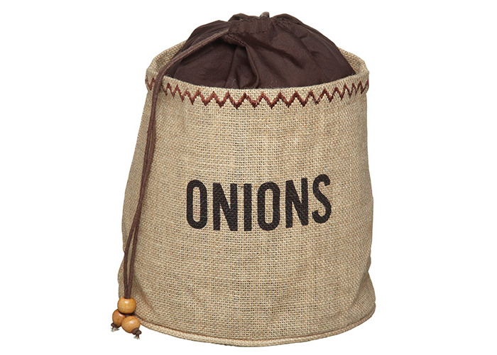 Onion Preserving Bag with Blackout Lining - 1