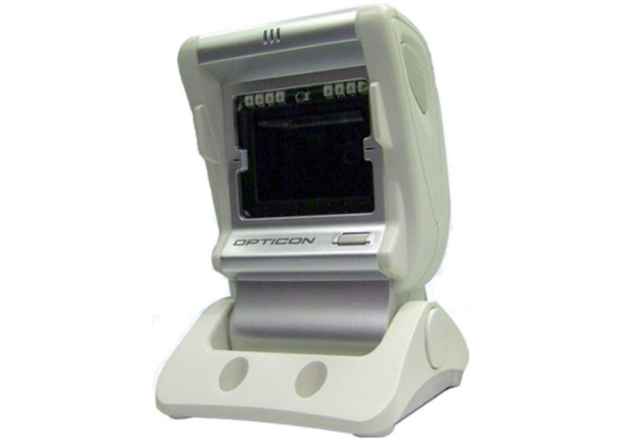 Opticon M5 2D Omnidirectional Scanner, RS23 interface including Integrated Adjustable Stand and UK Power Supply - 2