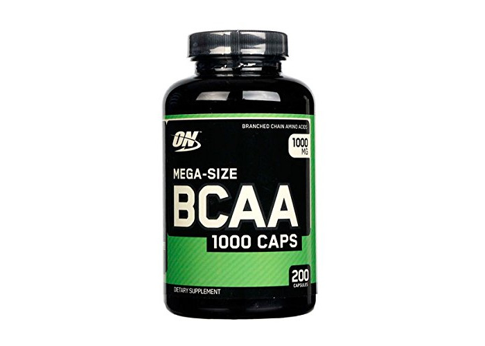 Optimum nutrition BCAA 1000-200 capsulas - 1