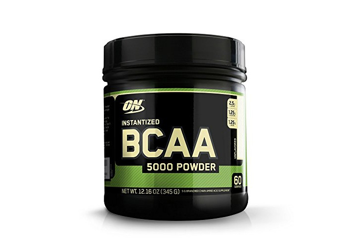 Optimum Nutrition BCAA 5000 345g Muscle Building and Recovery Powder - 1