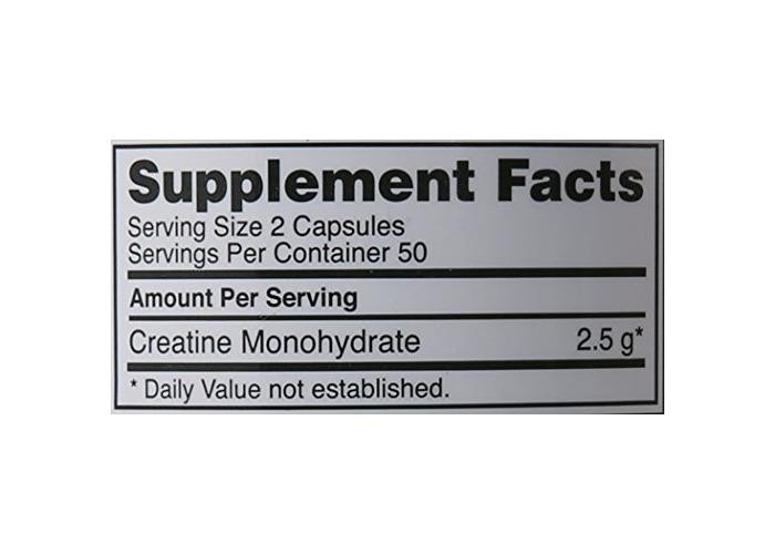 Optimum Nutrition Creatine 2500mg, 100 caps - 2
