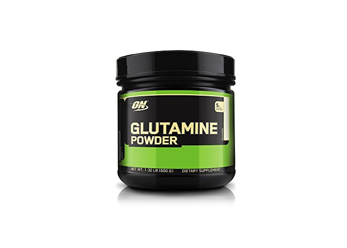 Optimum Nutrition Glutamine 5000 Muscle Recovery Powder, 600 g - 1