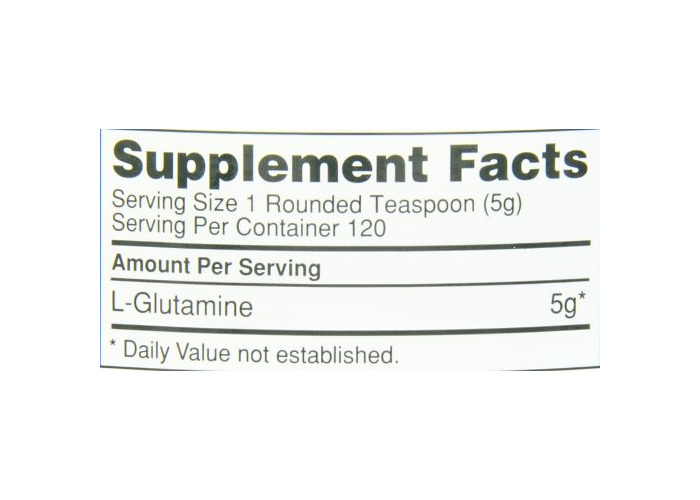 Optimum Nutrition Glutamine 5000 Muscle Recovery Powder, 600 g - 2