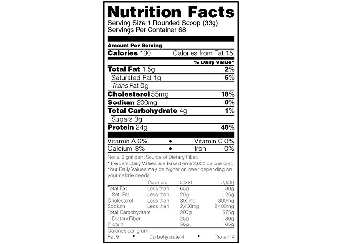 Optimum Nutrition Gold Standard Whey Protein Powder with Glutamine and Amino Acids Protein Shake - Cookies and Cream, 68 Servings, 2.27 kg (Packaging May Vary) - 2