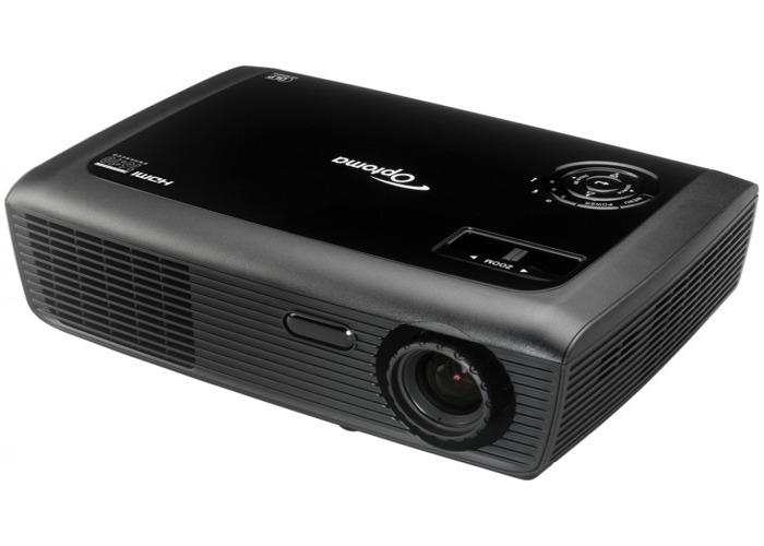 Optoma DLP Widescreen Projector (16:10) - 3D & HD Ready - 1