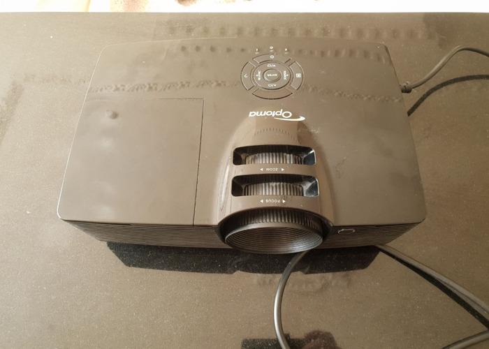 Optoma HD141X Full 3D DLP Projector - 3000 lms - 1