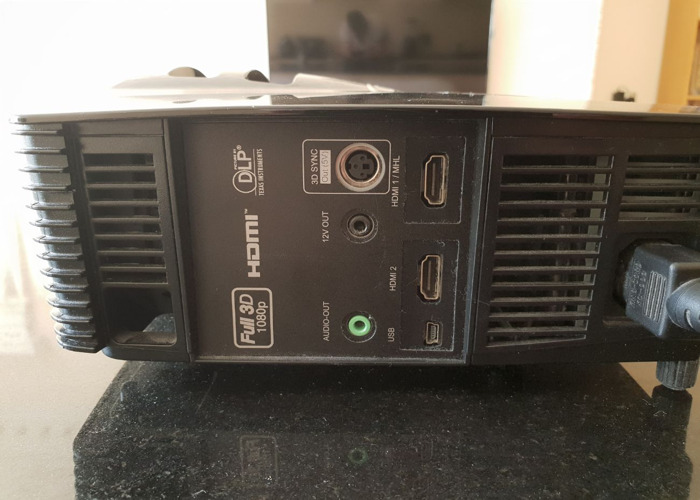 Optoma HD141X Full 3D DLP Projector - 3000 lms - 2