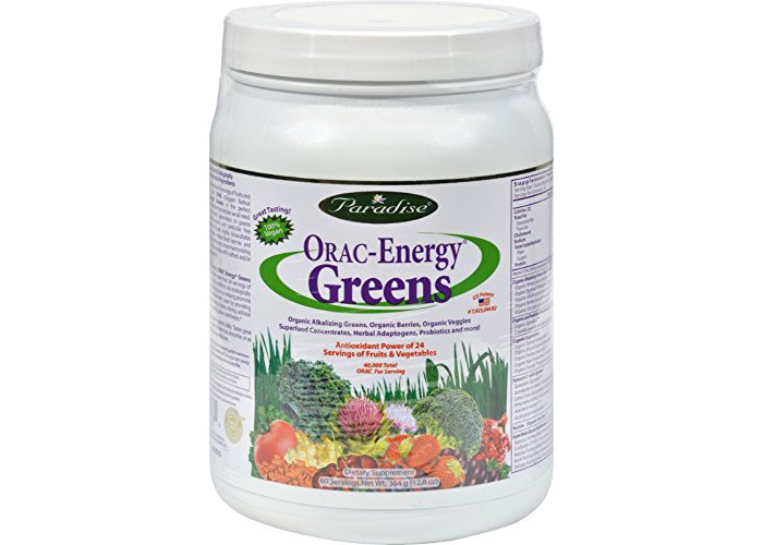 Orac Energy Greens - 12.8 oz by Paradise Herbs - 1