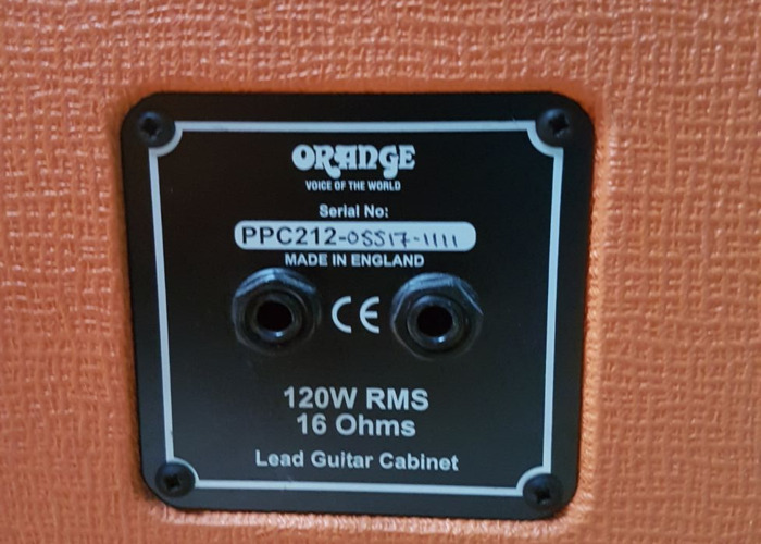 Orange 2x12 Guitar Speaker Cab - 1