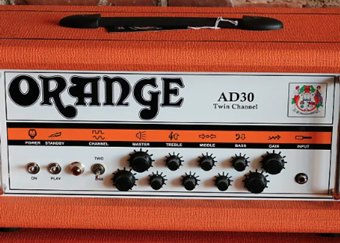 Orange AD30 Guitar Amp and Avatar 2x12 Guitar Cab - 1