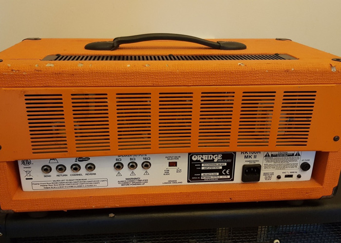 Orange Rockerverb 100 (Guitar Amp) - 2