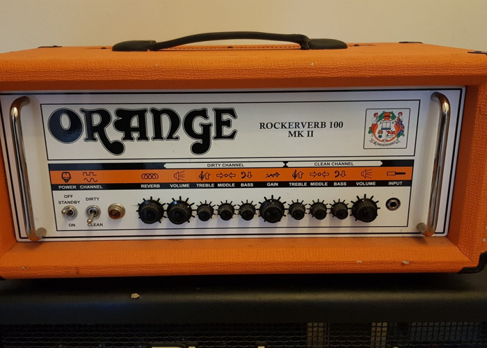 Orange Rockerverb 100 (Guitar Amp) - 1