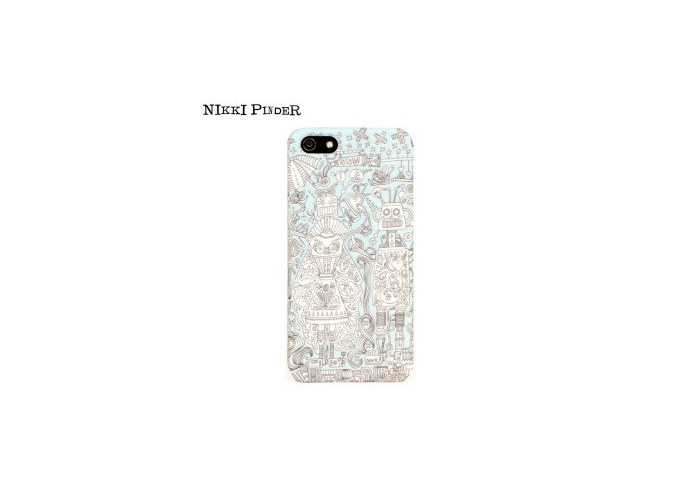 Orbyx Nikki Pinder Hard Case for iPhone 5 / 5s - Butterflies - 1