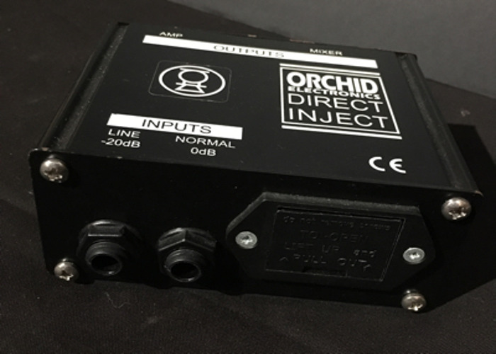 DI Box - Orchid Electronics, Active PP3 or +48v (2 Of 2) - 2