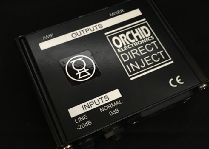 DI Box - Orchid Electronics, Active PP3 or +48v (2 Of 2) - 1