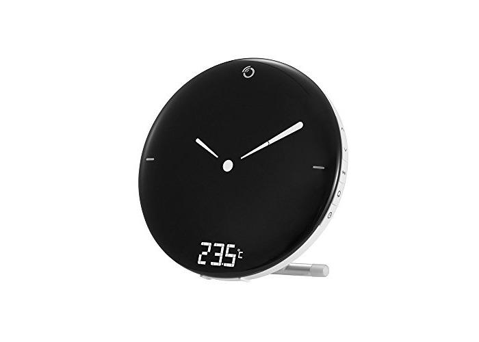 Oregon Scientific RM120 Digital Radio Controlled Alarm Clock with Analogue Display and Indoor Temperature - 1
