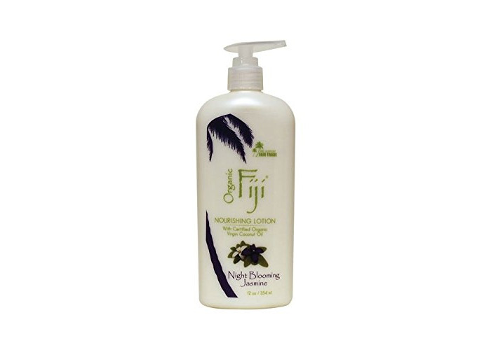 Organic Fiji Night Blooming Jasmine Moisturising Oil Lotion (For Face & Body, 354ml) - 1