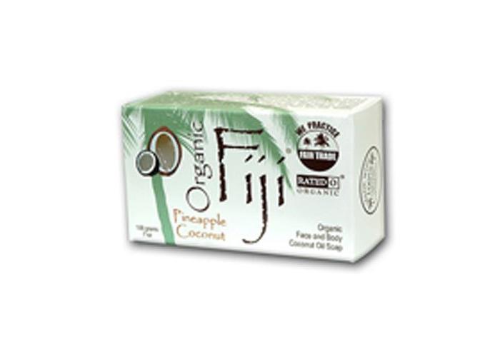 Organic Fiji Organic Pineapple Coconut Oil Soap, For Face & Body, 198g (For Face & Body, 198g) - 1