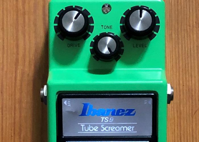 Original 1983 Ibanez TS9 Tube Screamer Guitar Pedal - 1