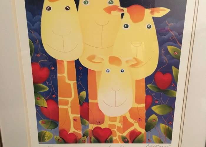 "Original Painting Print - M. Thorpe ""Loving Family""  1/850 - 2"