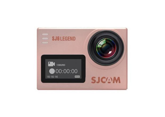 Original SJCAM SJ6 LEGEND 4K interpolated WiFi Action Camera Novatek NTK96660 2.0 inch LTPS - 2