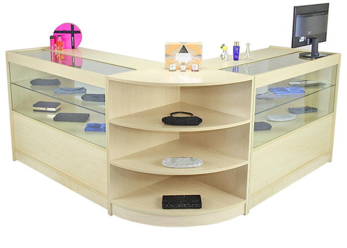 Orion Maple Shop Counter & Retail Display Set - 2