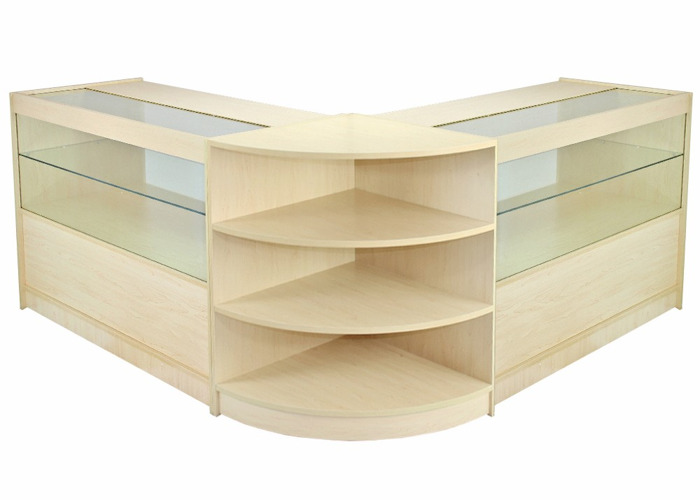 Orion Maple Shop Counter & Retail Display Set - 1