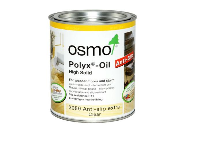 Osmo ® 3089 R11 Anti-Slip Polyx Hard wax Oil - Clear  2.5L - 1