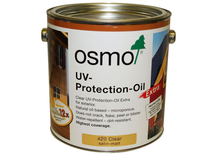 Osmo ® 712 Natural Oil Woodstain Ebony - 2.5L - 1