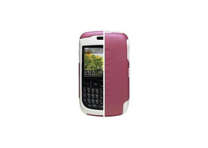 OtterBox Commuter Case for BlackBerry 8500 Series - Avon Pink/White - 2