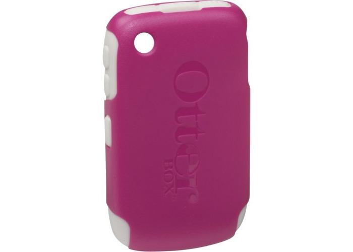 OtterBox Commuter Case for BlackBerry 8500 Series - Avon Pink/White - 1