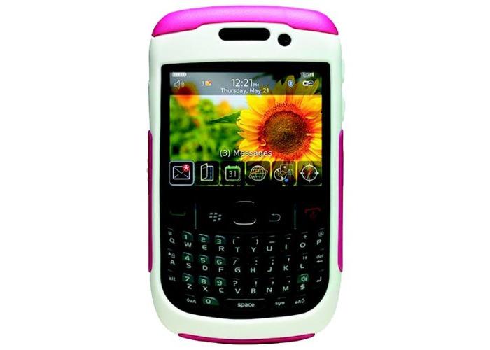 OtterBox Commuter Case for BlackBerry 9300 Curve - Avon Pink/White - 1