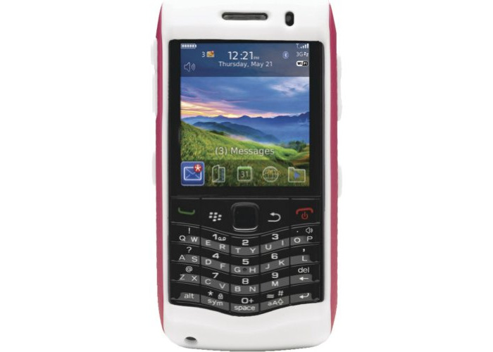 OtterBox for BlackBerry 9100 Commuter - Pink/White - 1