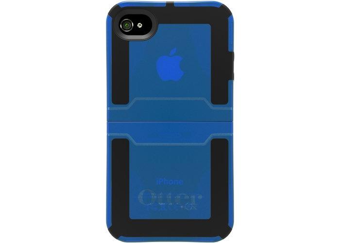 OtterBox Reflex Series Case for iPhone 4S - Translucent Glacier Blue - 1